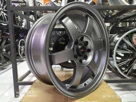 toko velg racing datsun ring 16 warna grey free ongkir