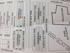 3 Marla Commercial plot for sale