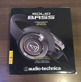 Audio-Technica ATH-WS770 iS GM Solid Bass Headphones