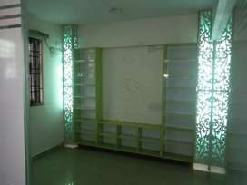 Glass partition for office setup