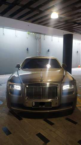 Rolls Royce Ghost 2015 Abu Metalik LWB Long Wheel Base