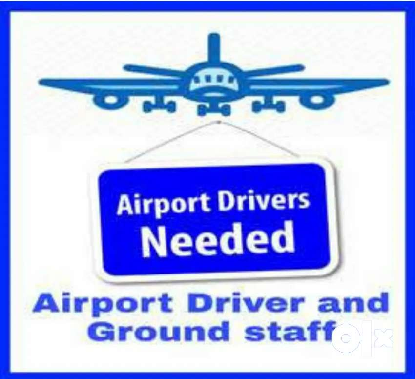 Hiring in airport driver and Ground staff 0