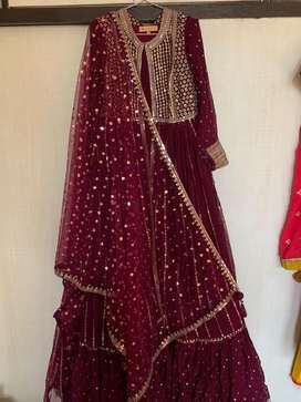 Anarkali dress Party wear