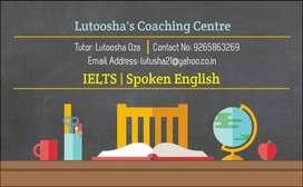 IELTS / Spoken English (Personal Coaching)