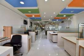 Fully furnished office space for rent at sation road Jaipur