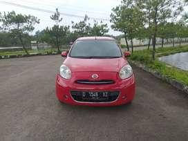 Dp 17 jt ! Kredit murah Nissan March 1.2 matic 2012 new look.!!