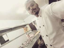 I m fast food chines and continental chef