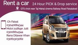 Pick drop service faisalabad 24hr