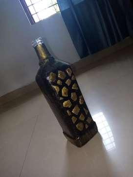 Unique bottle craft. Money urgent