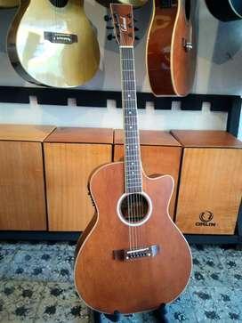 Gitar akustik elektrik lakewood