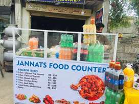 Fast Food Counter ( Stall ) new
