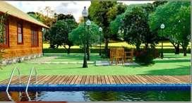 Bunglow with land, pvt  pool, mango farm & organic farm at 35 lacs