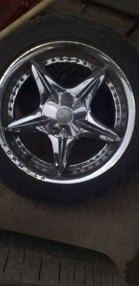 17inch rims and tyres for sale.