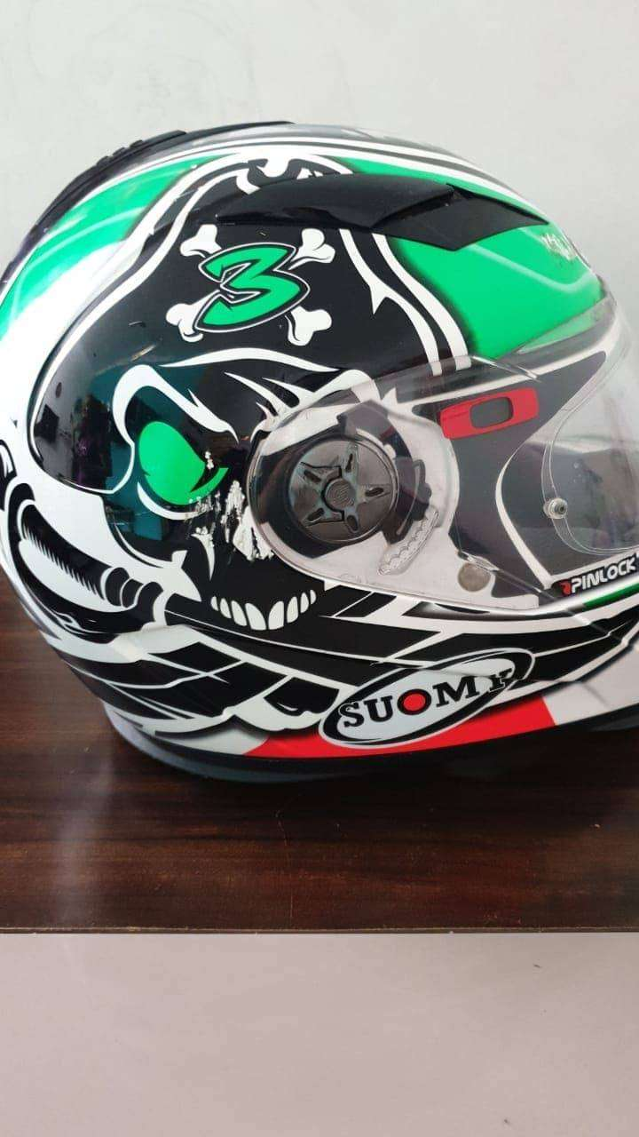 Soumy Halo Max Biaggi Rep Helm 0