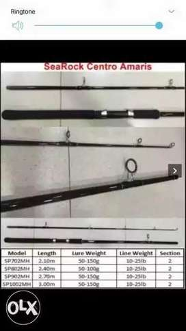 Excellent rods STARTING price 500 onwards at