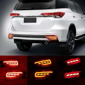 Fortuner rear led reflector light