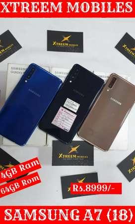 Samsung A7(18)..4/64..Good Condition..