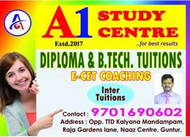 B.tech and Diploma tuition