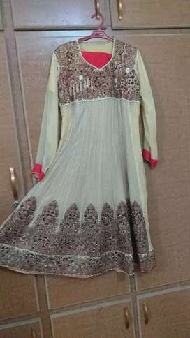 Bridal frok and simpl clothes  One time use only in wedding