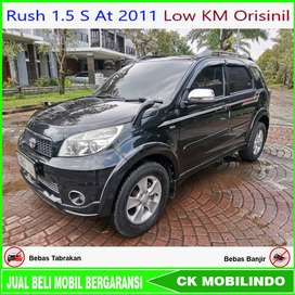 [Dp24jt] Toyota Rush 1.5 S At 2011 Low KM Orisinil Bisa Kredit