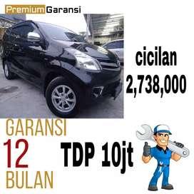 TOYOTA AVANZA G AT 2012 TDP 10JT & ANGSURAN RINGGAN