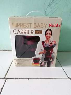 Gendongan Baby Kiddy Hiprest Baby Carrier 2 in 1