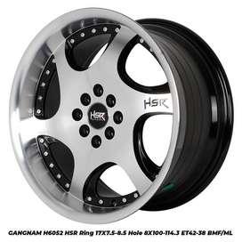 GANGNAM 6052 HSR R17X75/85 H8X100-114,3 ET42/38 BMF/ML
