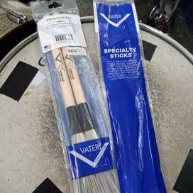 Stick drum vater wire tap wood brush