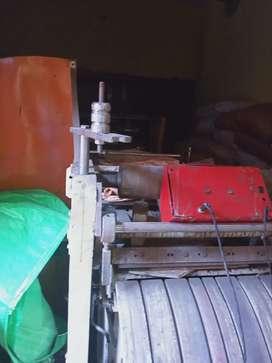 पेपर बैग मशीन दो कलर प्रिटिग