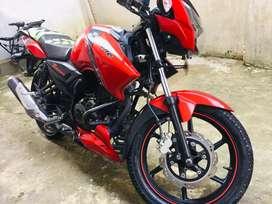 Apache 160 red colour