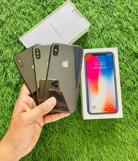 iPhone X - 64 GB - Gray color - complete 100% Condi - full kit
