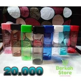My Bottle Petak / Botol Minum Persegi 500 ml Full Colour