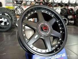 Velg Celong HSR Black Starform R16x8-9 H8 Bisa TT