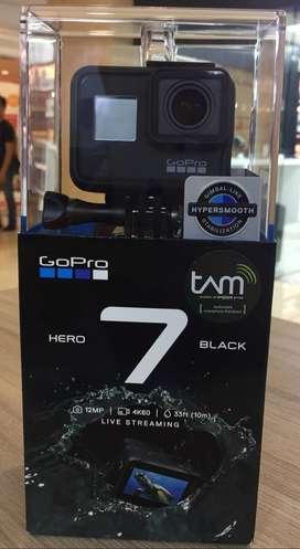 GoPro Hero 7 BLACK ex TAM kredit bisa tanpa DP