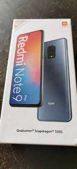 Working condition of Redmi note 9 pro model is available with us  Cod