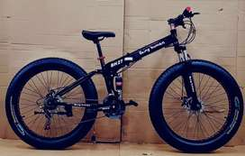 New brand fat and Foldable cycle