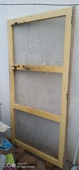 Out side musquto net door