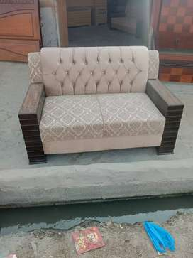 Back beats with side box design sofa