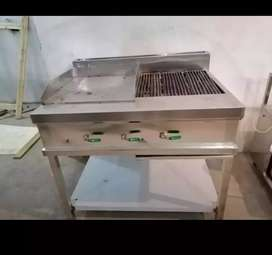 Hot plate  with  grill 2ft /3ft