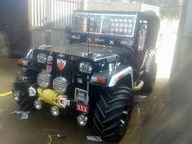 Willys mahindra bolero Di engine power steering