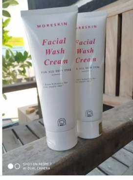 Moreskin facial wash cream