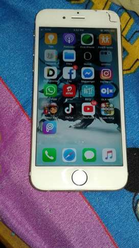 Iphone 6 rose gold 16gb 100% battery health