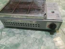 Kompor gas panggangan portable