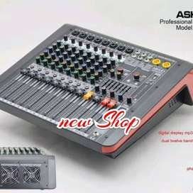 power mixer audio ASHLEY NR8000 8 channel original Ashley