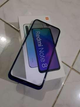 Xiaomi Redmi Note8 Ram6/128 Lengkap
