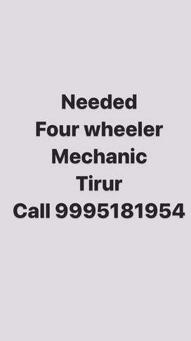 FOUR WHEELER ENGINE MECHANIC NEEDED