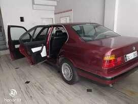 BMW 525 tds E34 based 1995 - 0022 Delhi VIP number