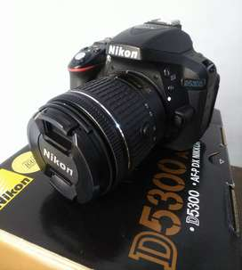 DSLR Nikon D5300 Kit Like NEW