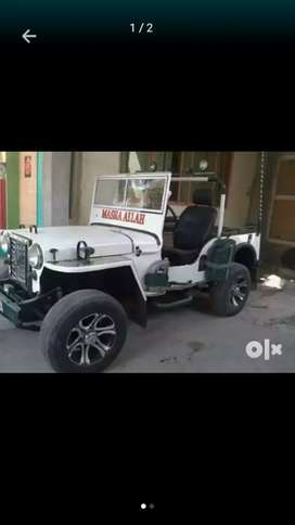 Modified Open jeep in New design