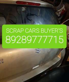 Old junk UNUSED CARS IN SCRAP CARS